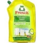 Средство для стирки Frosch Лимон жидкий 2л