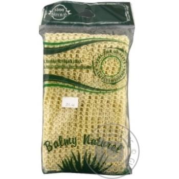 Лента массажная + рукавица Balmy Naturel 10601 - купить, цены на МегаМаркет - фото 1