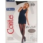 Колготки жіночі Conte Elegant Tulle 30 den розмір 3, nero