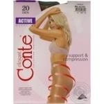 Колготи жiночi Active Conte 20 розмiр 4 natural