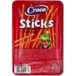 Соломка Croco Sticks соленая с солью 100г