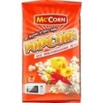 Попкорн Mc'Corn для микроволновки со вкусом острого сыра 90г