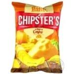 Чипсы Flint Chipster's картофельные Сыр а 70г