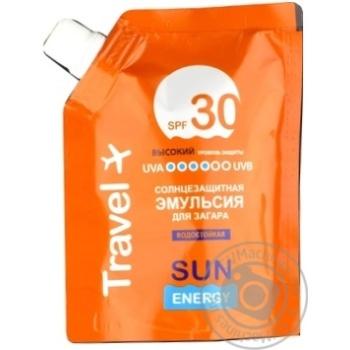Эмульсия Sun Energy для загара SPF30 90мл - купить, цены на Novus - фото 1