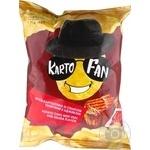 KartoFan with a taste adjika and veal potato chips 70g