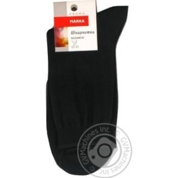 Носки Marka Promo мужские классические размер 27 М101U - купить, цены на Novus - фото 1