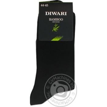 Носки мужские DiWaRi Bamboo 000 черный р.29 шт - купить, цены на Novus - фото 4