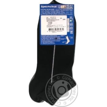 Brest Active Men's Ultrashort Black Socks Size 25 40-41 - buy, prices for CityMarket - photo 5