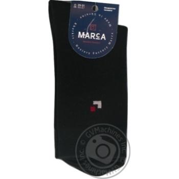 Шкарпетки Marca Premium чоловічі подвійний борт 29-31р - купить, цены на Ашан - фото 1