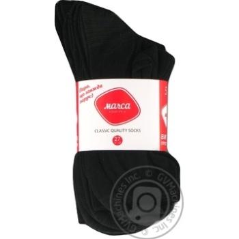 Шкарпетки чоловічі класичні Marca Classic розмір 27 М101U 5 пар акція - купить, цены на Novus - фото 1