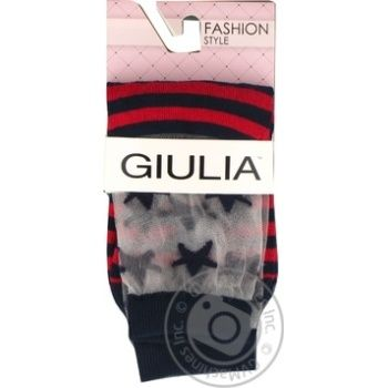 Шкарпетки жіночі GIULIA WSM-014 calzino, navy-36-38 - купить, цены на Novus - фото 1