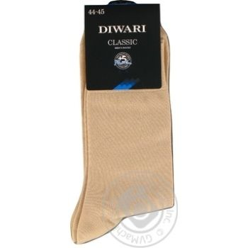 Sock Diwari Classic cotton for man 29-31 - buy, prices for Novus - image 1