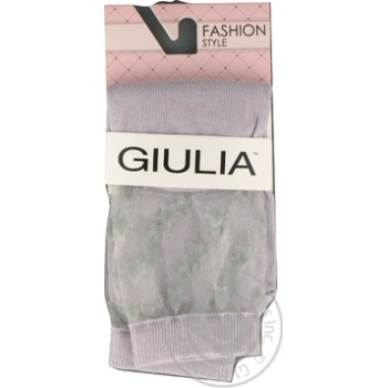 Шкарпетки жіночі WSM-006 steel,36-38 GIULIA - купить, цены на Novus - фото 1