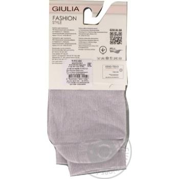 Шкарпетки жіночі WSM-006 steel,36-38 GIULIA - купить, цены на Novus - фото 2