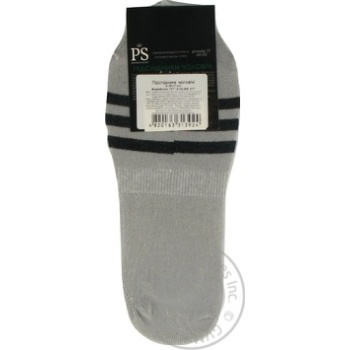 Подследники Premier Socks мужские серые 27р - купить, цены на Novus - фото 2