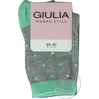 Шкарпетки жіночі GIULIA WS-04 calzino, mint-39-40