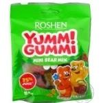 Конфеты желейные Roshen Yummi Gummi Mini Bear Mix 100г