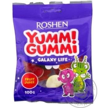 Конфеты желейные Roshen Yummi Gummi Galaxy Life 100г