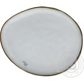Plate Oval Ceramic Plate 19.5cm
