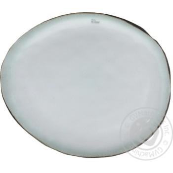Тарелка Plato овальная керамика 27Х23см