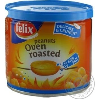 Арахіс Felix подвійного обсмаження в печі солоний 120г - купити, ціни на МегаМаркет - фото 3