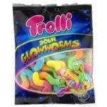 Конфеты Trolli Кислые светлячки фруктовые жевательные 100г