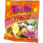 Конфеты Trolli Игрушечные мышата фруктовые жевательные 100г