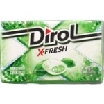 Dirol X-fresh with mint chewing gum 18g