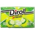 Dirol X-fresh freshness of apple chewing gum 18g