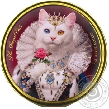 Чай черный Richard Королевские собаки и коты ж/б 30г