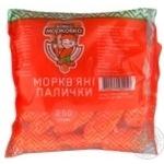 Carrot sticks Vovka Morkovka 250g