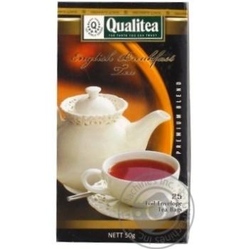 Quality English breakfast black loose tea 2g*25pcs