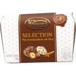Конфеты Witor's Selection ассорти пралине из молочного шоколада с начинкой 150г