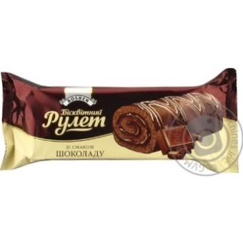 Рулет бисквитный Roshen со вкусом шоколада 240г