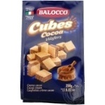 Balocco Cubes with cocoa wafers 250g