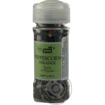 Spices Badia Pepper mix pepper pea 56.7g Usa - buy, prices for Novus - image 3