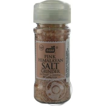 Млинок рожева гімалайська сіль BADIA 127гр