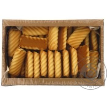 Печенье сдобное Rioba Супер-моника 600г - купить, цены на Метро - фото 1