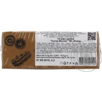 Печенье сдобное Rioba Супер-моника 600г - купить, цены на Метро - фото 2
