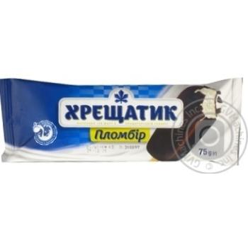 Khreshchatyk Plombir Ice-cream 75g - buy, prices for MegaMarket - image 4