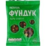 Фундук сушений Novus  100г - купити, ціни на Novus - фото 1