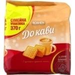 Печенье Roshen К кофе сахарное с ароматом топленого молока 370г