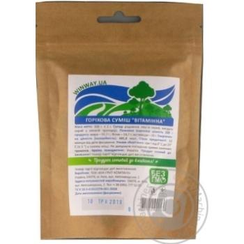 Ореховая смесь Winway Лесная 100г - купить, цены на Novus - фото 3