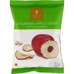 Чипсы Нобилис Джонатан яблочные без применения жиров сахара соли и ароматизаторов 20г