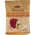 Чипсы Нобилис Старкинг яблочные 5 свежих яблок без применения жиров сахара соли и ароматизаторов 50г