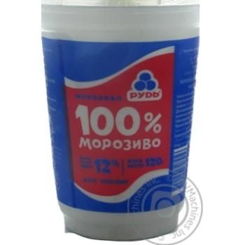 Морозиво Рудь 100% морозиво у полістирольному стакані 120г