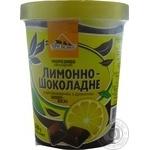 Мороженое Три Медведя Лимонно-шоколадное двухслойное 500г