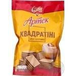 Вафли Свиточ Артек Квадратини со вкусом капучино 133г
