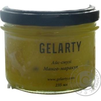 Мороженое Gelarty Айс-смузи Манго-Маракуйя 235мл