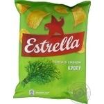 Чипсы Estrella со вкусом укропа 125г